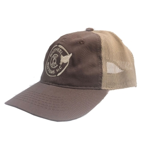 Brown Logo Trucker Hat